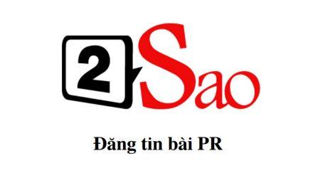 Đặt quảng cáo tại 2sao.vn