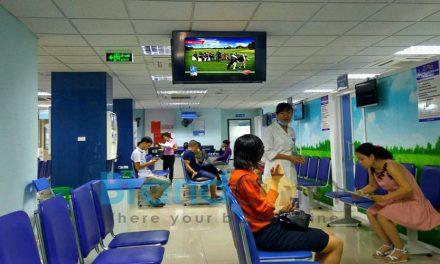 Quảng cáo lcd bệnh viện