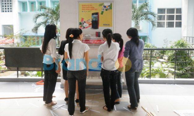 QC poster học đường