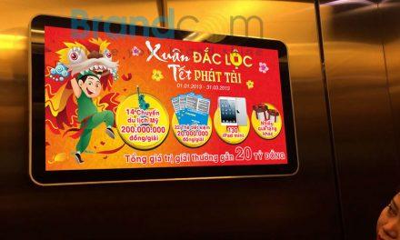 Quảng cáo LCD – Frame thang máy