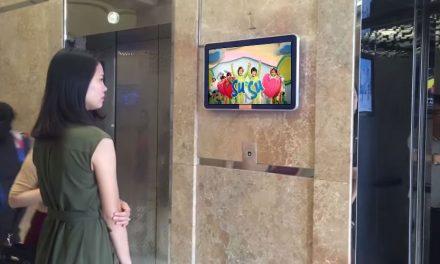 Địa chỉ quảng cáo lcd thang máy