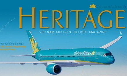 Pr tạp chí Heritage