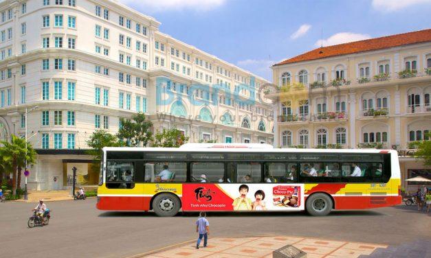Dịch vụ quảng cáo trên xe bus
