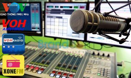 Quảng cáo trên đài phát thanh VOV, VOH, FM