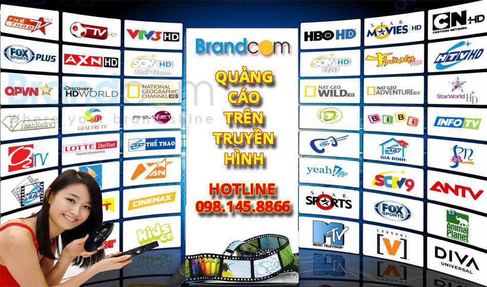 Booking quảng cáo trên sóng truyền hình