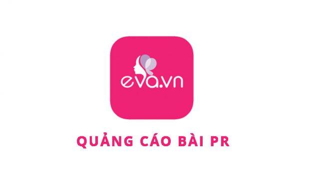 Bảng giá quảng cáo bài PR báo Eva.vn 2017
