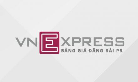 Bảng giá quảng cáo bài PR báo VnExpress 2017