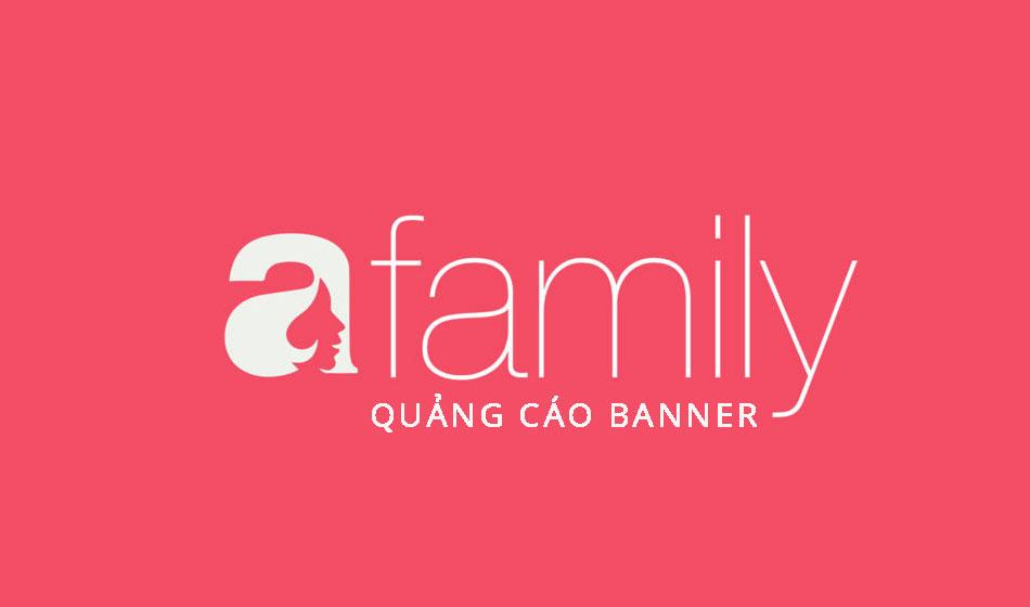 Bảng giá quảng cáo Banner báo Afamily 2017