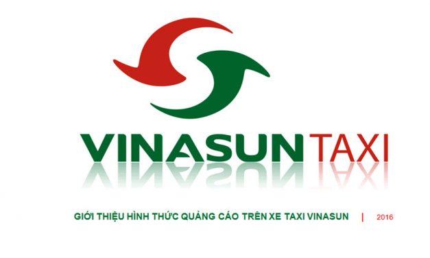 Bảng giá quảng cáo trên taxi Vinasun