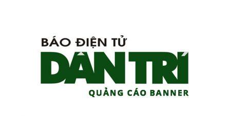 Bảng giá quảng cáo Banner báo Dantri 2017