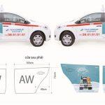 Báo giá quảng cáo trên taxi – 2 cách cửa sau