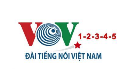 Bảng giá quảng cáo trên VOV 1-2-3-4-5 Đài tiếng nói Việt Nam