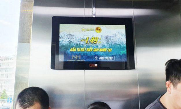 BÁO GIÁ QUẢNG CÁO LCD THANG MÁY TẠI HÀ NỘI