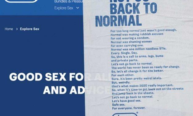 """Quảng cáo Durex khuyên mọi người """"Đừng trở lại bình thường"""" như trước dịch Covid-19"""