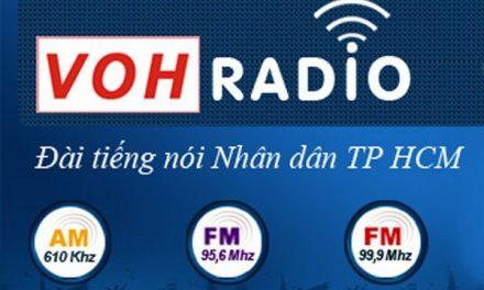 Khung chương trình, quảng cáo trên Đài phát thanh VOH