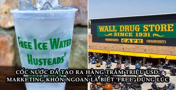 """Cốc nước đá miễn phí – Ý tưởng """"rẻ tiền"""" cứu cửa hàng sắp phải đóng cửa thành doanh nghiệp trị giá hàng trăm triệu USD"""